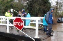 February 2015-not too wet to walk!